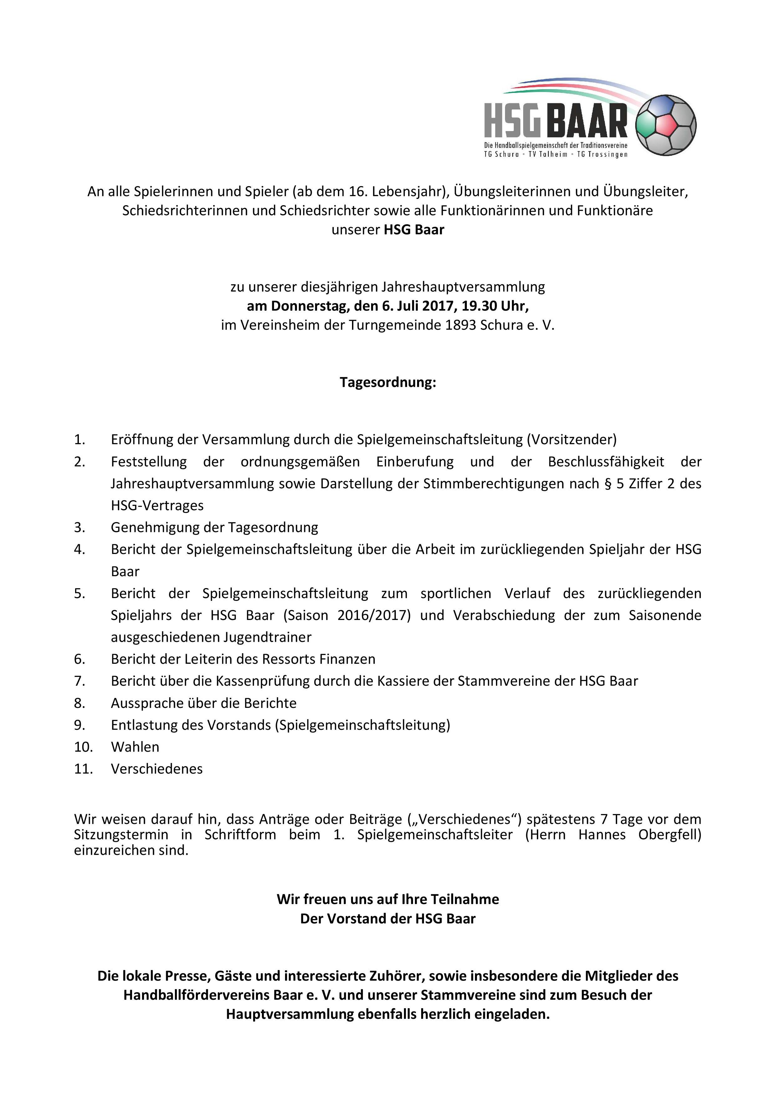 2017 - HSG Baar - Einladung Jahreshauptversammlung_Endfassung-page-001